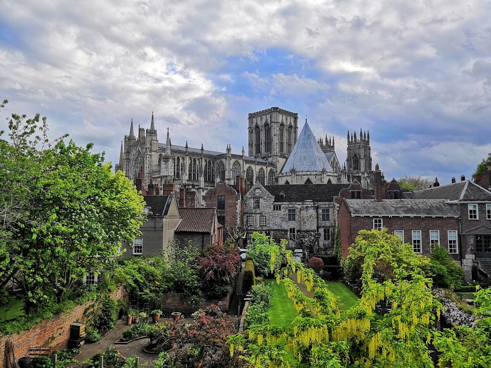 The Minster from the wall