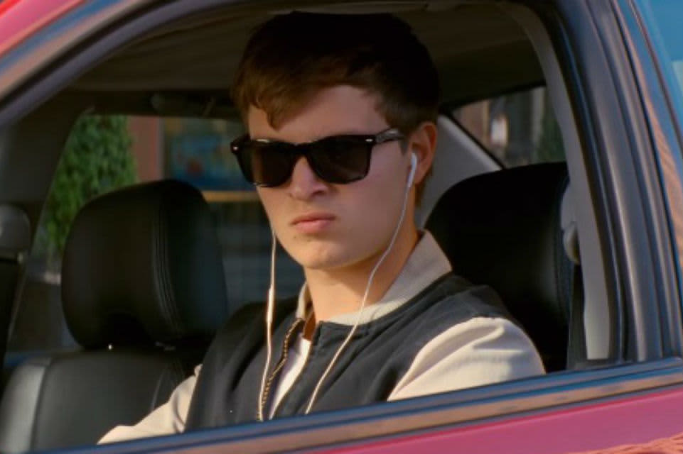 The titular Baby Driver